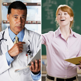 Doctor and Teacher (Credit: Google images)