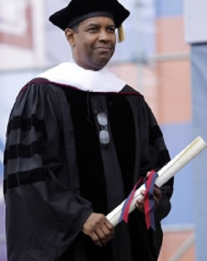 denzel washington graduation speech upenn