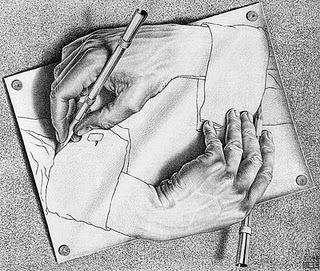 Writing Hands (Credit: Google images)