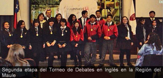 Torneo de Debates en Inglés en la Region del Maule (Mineduc - PIAP)
