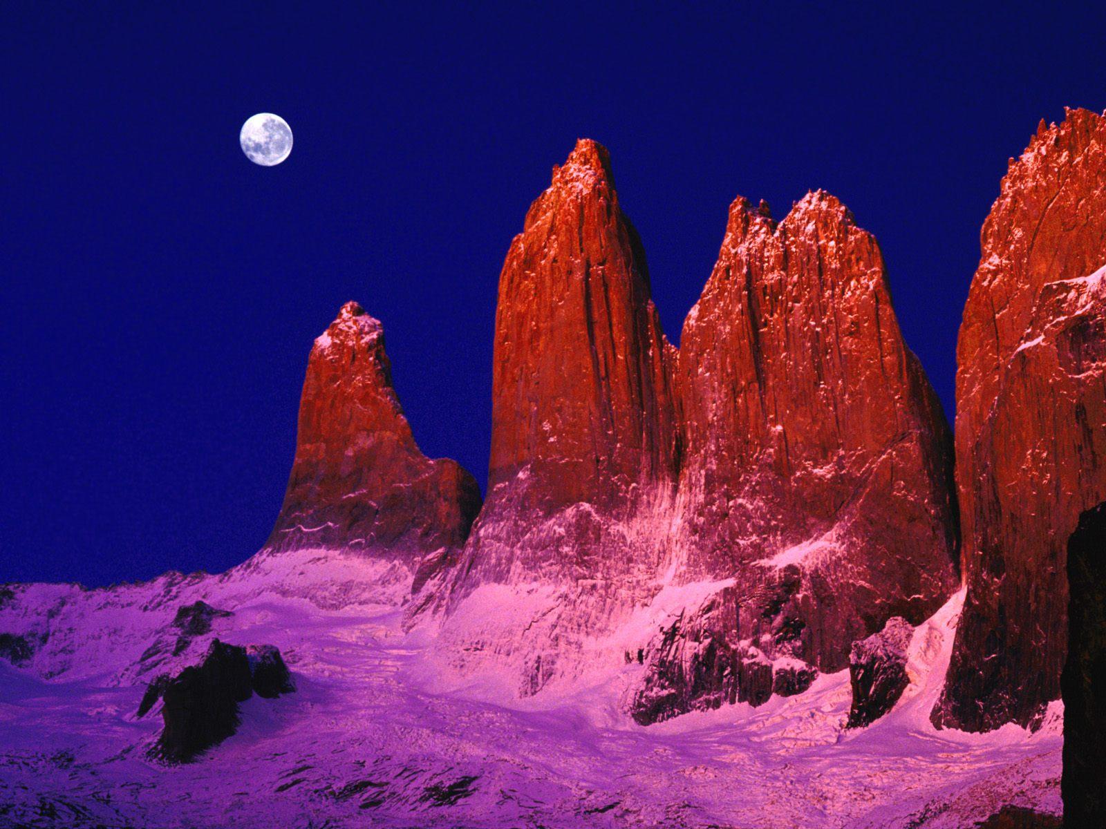 foto de torres del paine: