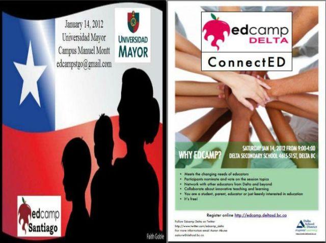 Global Partners: Edcamp Santiago & EdCamp Delta