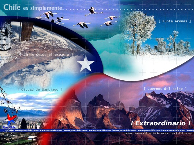 Chile is simply extraordinary! (Credit: Google images)