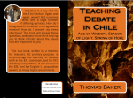 Teaching Debate in Chile https://www.createspace.com/3784907