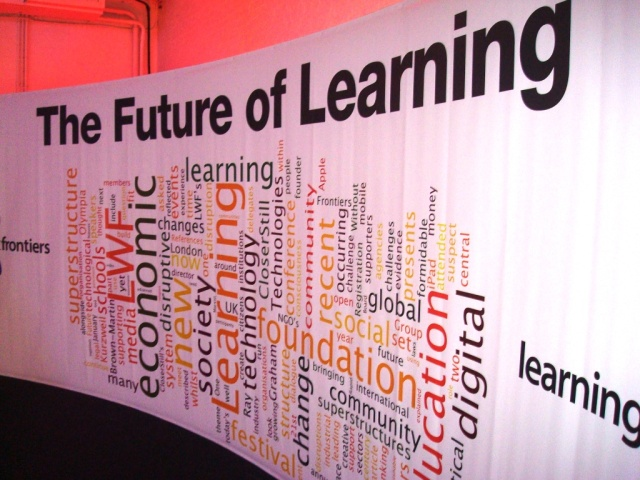 The Future of Learning (Credit: Steve Wheeler http://steve-wheeler.blogspot.com/ )