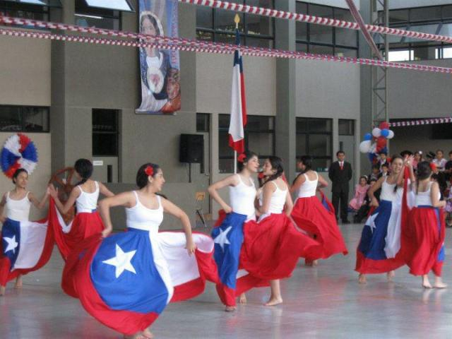 National Symbols of Chile: La Cueca Dancers