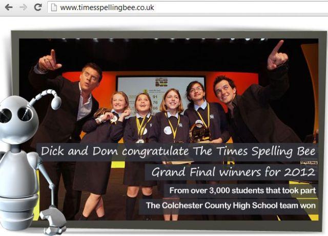 Times Spelling Bee