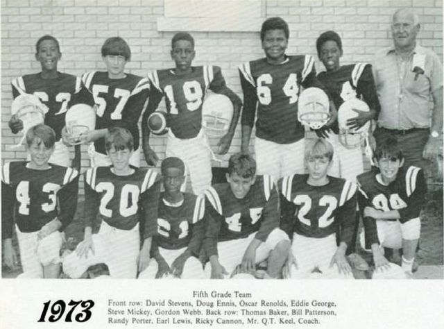 5th Grade FOOTBALL Picture