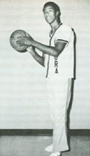 1980 Luxora Panthers Basketball Pic - Thomas Baker