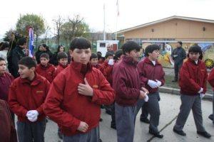 Chile parade