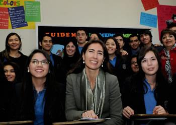 SIMCE Ingles 2012 - Mineduc - Ministra Schmidt