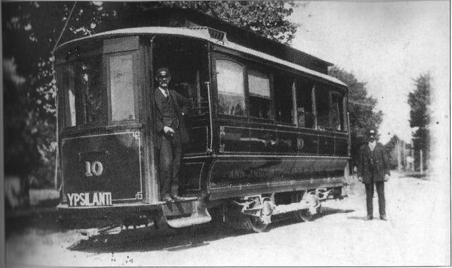 Ypsi-Ann 1896 Electric Car
