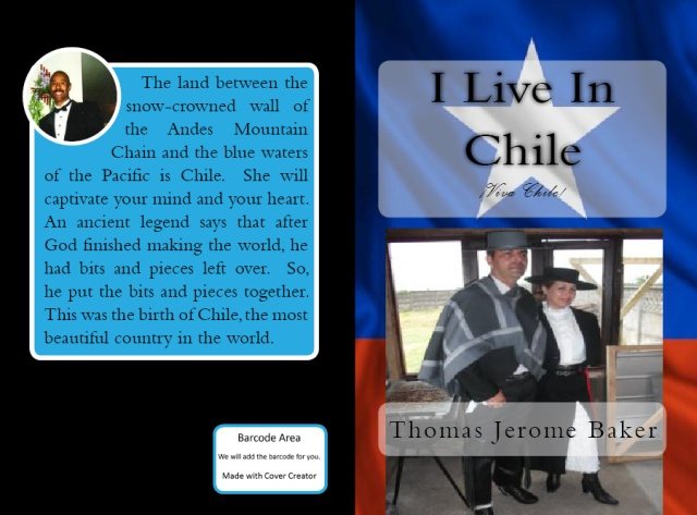 Book Cover - I Live In Chile