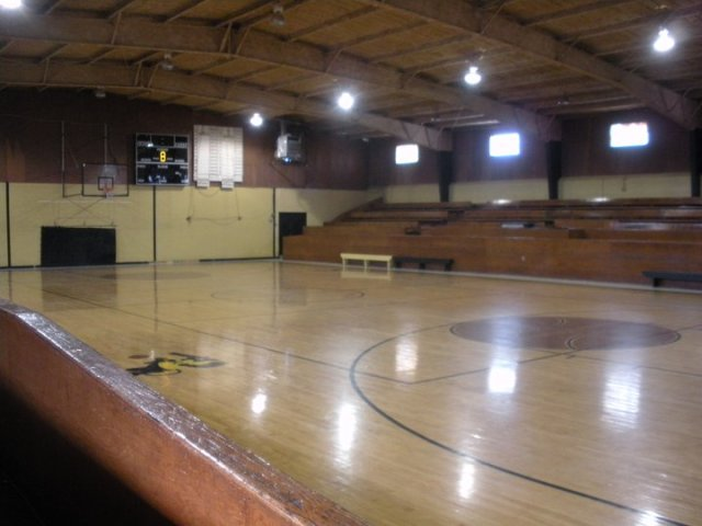 Gym at LHS
