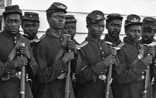 Men of the 54th Massachusetts Infantry Regiment