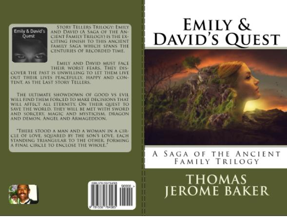 Paperback - Emily and Davids Quest