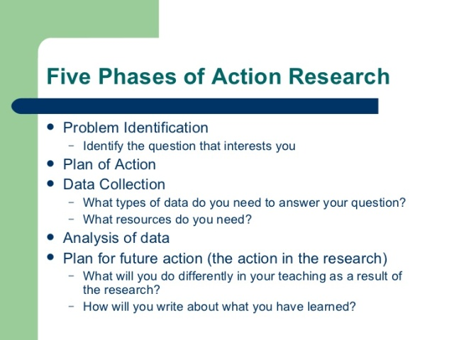 5 phases of action research